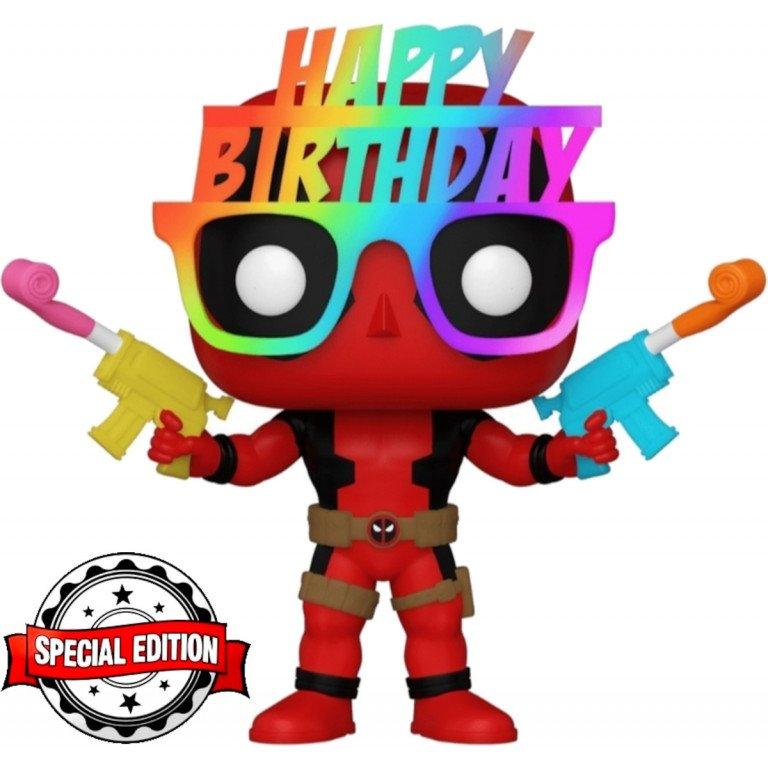 Funko Pop - Marvel - Deadpool - Deadpool Birthday Glasses (special edition)