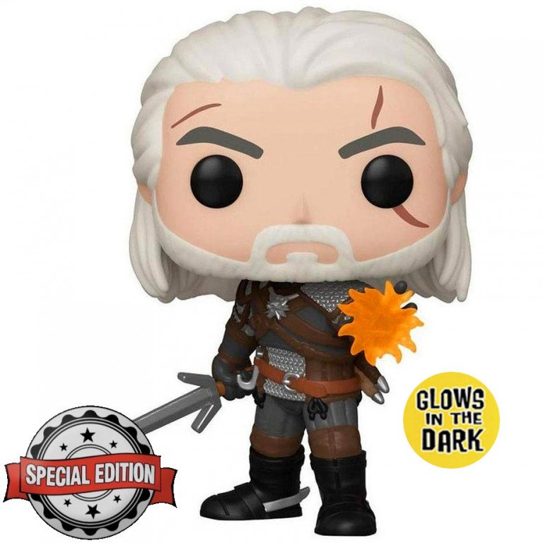 Funko Pop - The Witcher - Geralt Igni - Glows in the Dark (special edition)