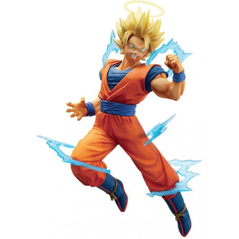 Banpresto - Dragon Ball - Super Saiyan 2 Son Goku - Dokkan Battle Collab