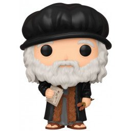 FUNKO POP ARTISTS LEONARDO DA VINCI