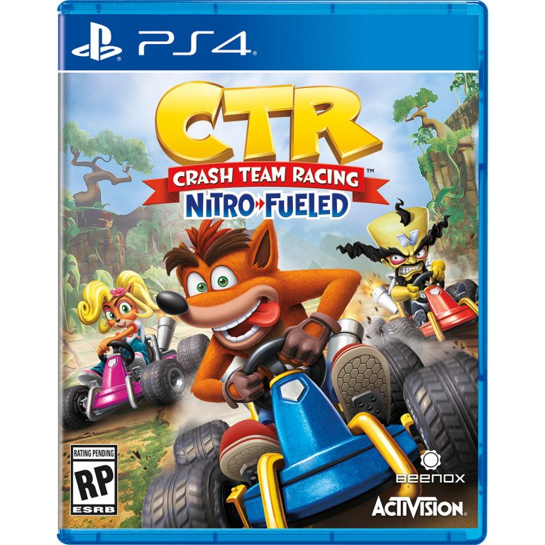 CTR Crash Team Racing Nitro Fueled - PS4