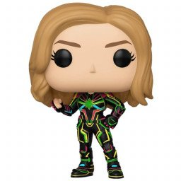 FUNKO POP MARVEL CAPTAIN MARVEL NEON