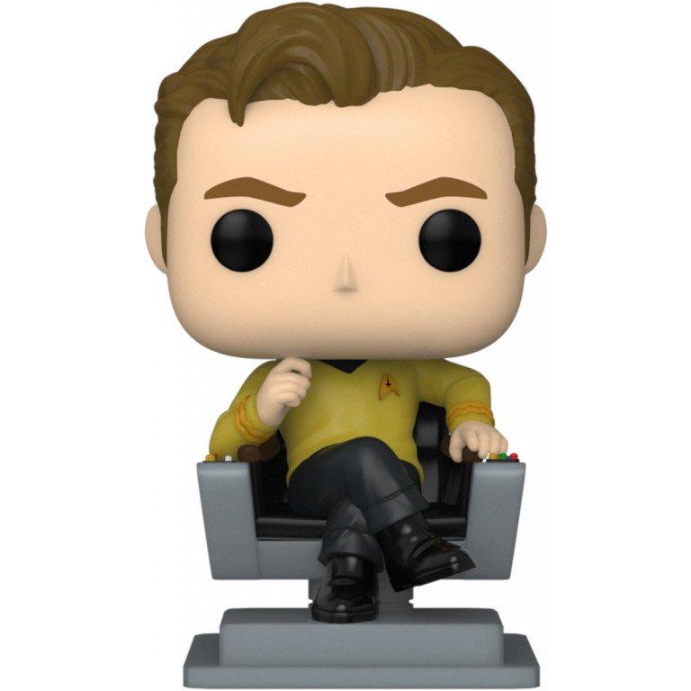 Funko Pop - Television - Star Trek - Capitan Kirk (chair)