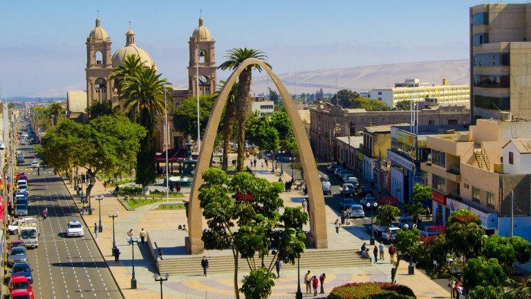 Conocer el Perú - Ciudad de Tacna