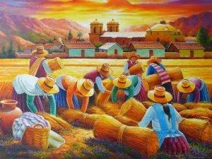 Arte y colores del Perú