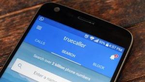 Truecaller para bloquear las llamadas de números indeseados