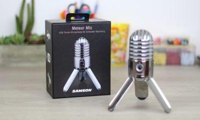 Micrófono de estudio Samson Meteor Mic (unboxing)