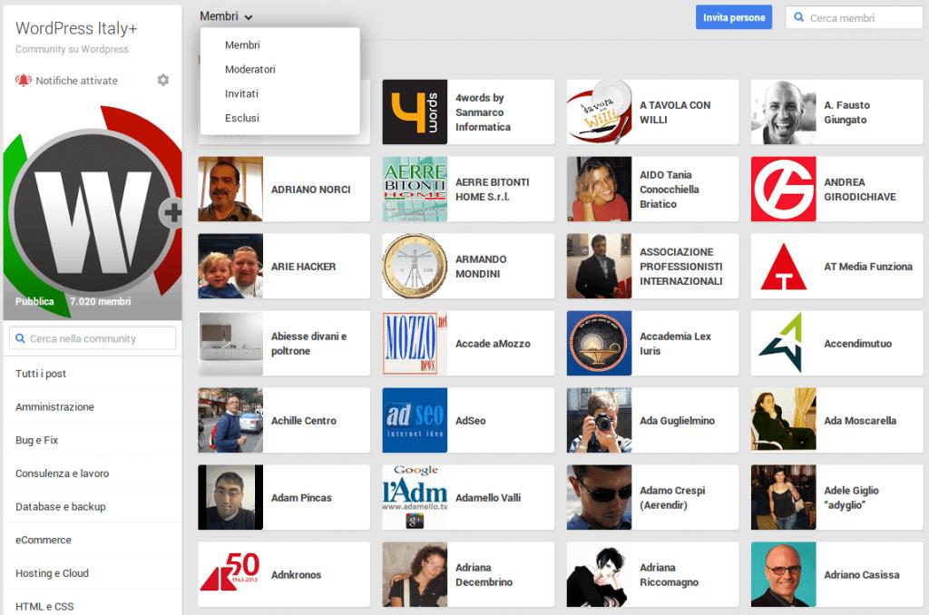 Community Google+